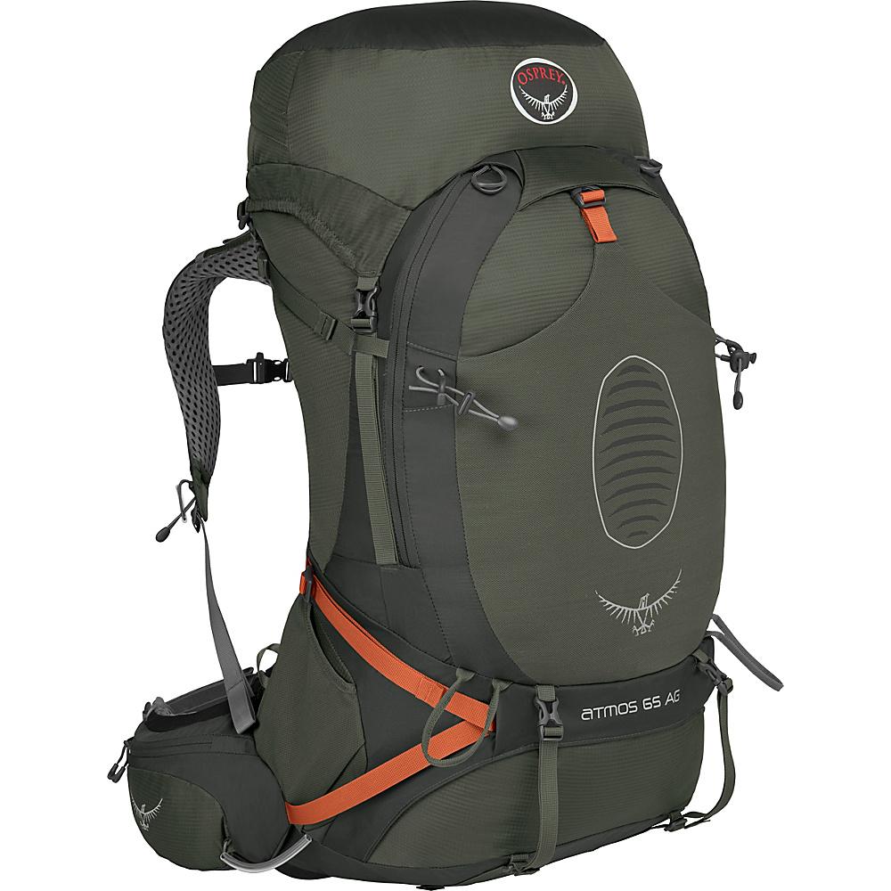 Osprey Atmos AG 65 Backpack Graphite Grey - MD - Osprey Backpacking Packs - Outdoor, Backpacking Packs