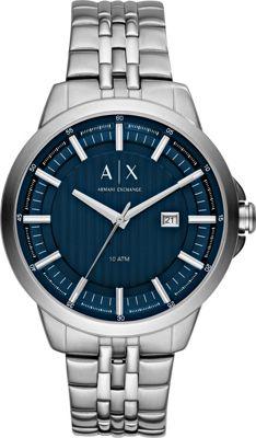 A/X Armani Exchange Smart Watch Silver - A/X Armani Exchange Watches