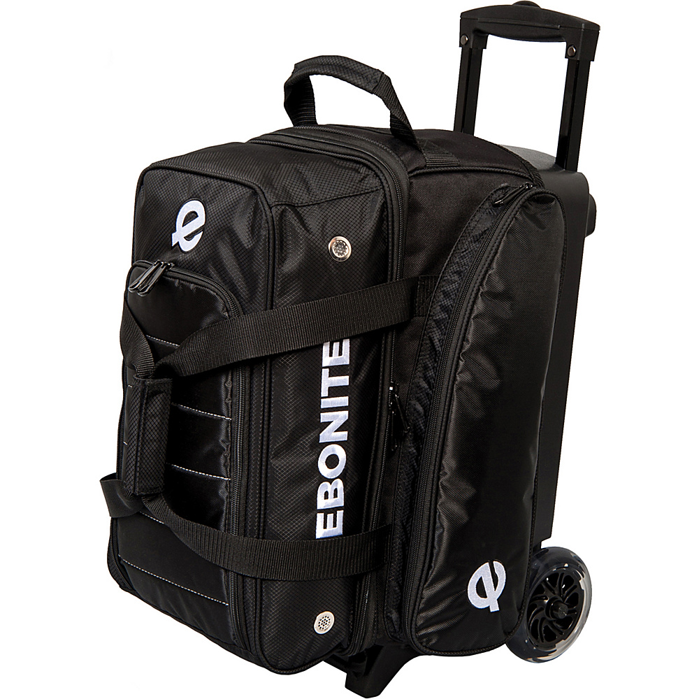Ebonite Eclipse Double Roller Bowling Bag Black Ebonite Bowling Bags