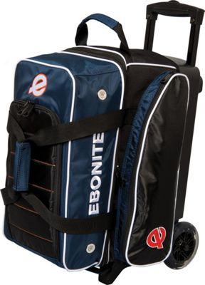 Ebonite Eclipse Double Roller Bowling Bag Navy - Ebonite Bowling Bags
