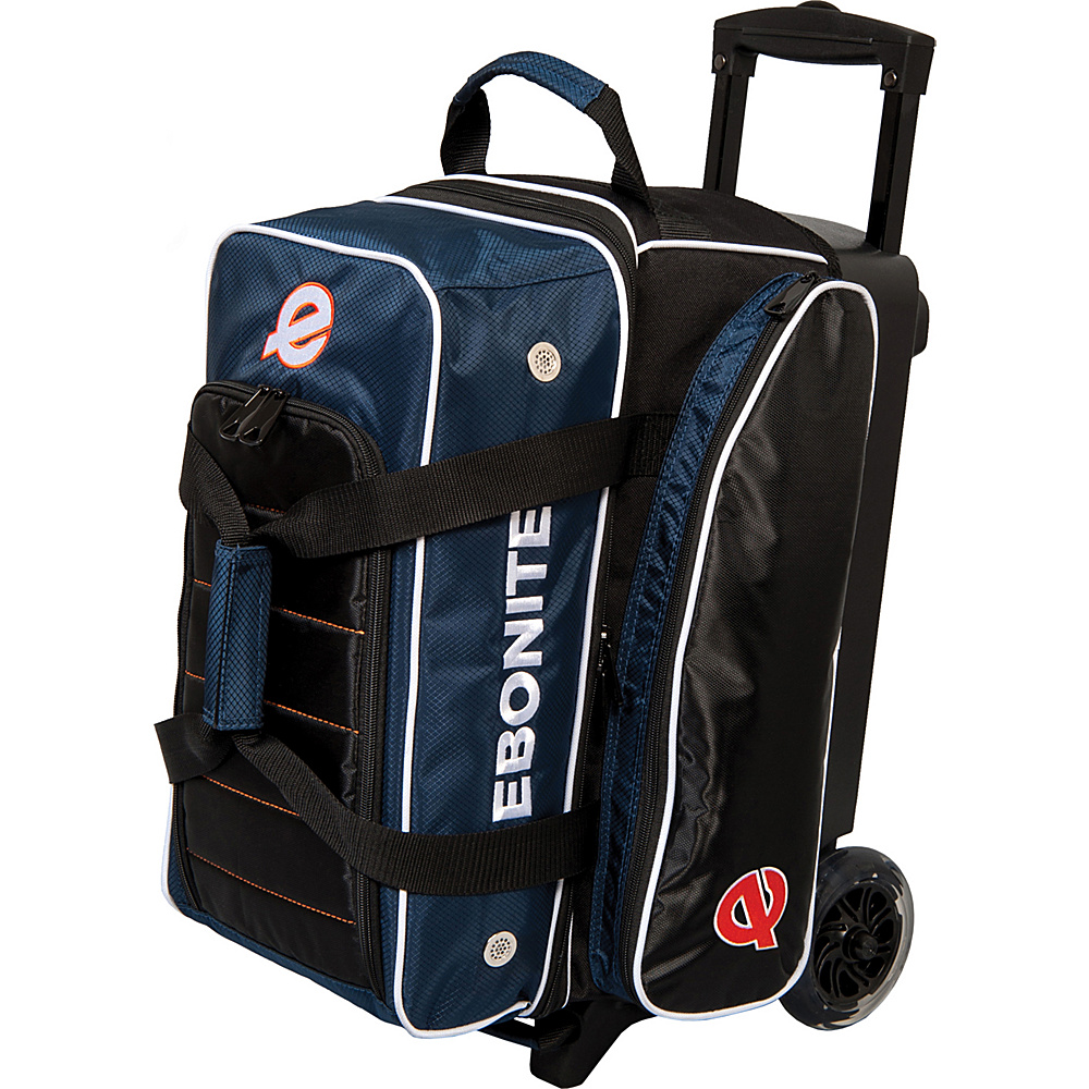 Ebonite Eclipse Double Roller Bowling Bag Navy Ebonite Bowling Bags