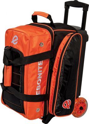 Ebonite Eclipse Double Roller Bowling Bag Orange - Ebonite Bowling Bags