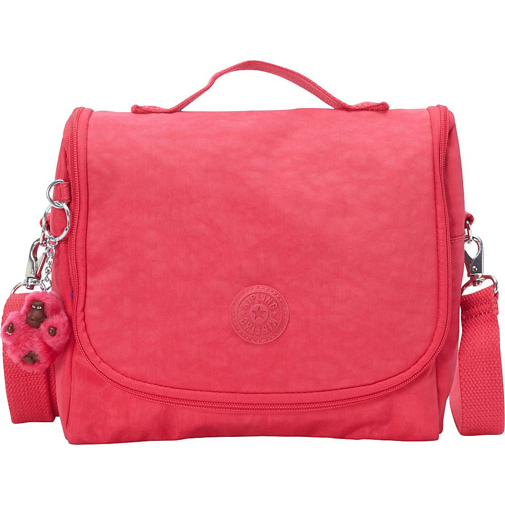 Kipling Kichirou Lunch Bag - Retired Colors Vibrant Pink - Kipling Travel Coolers