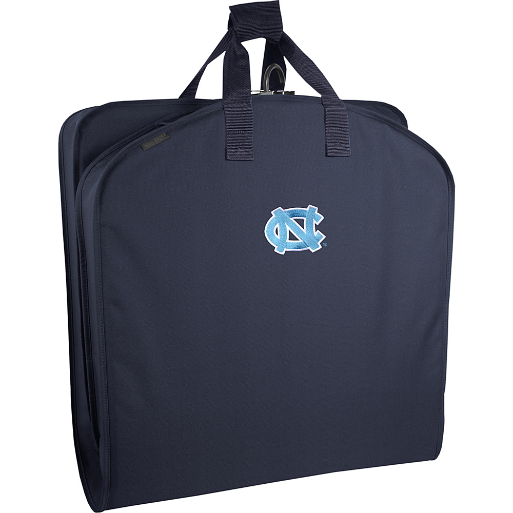Wally Bags North Carolina Tar Heels 40 Suit Length Garment Bag Navy - Wally Bags Garment Bags