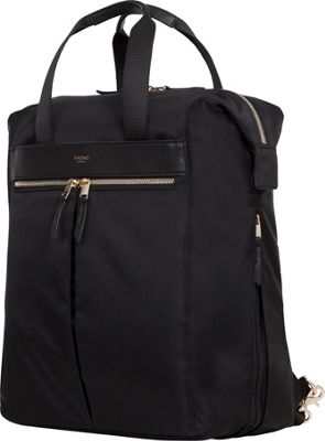 "Knomo USA Chiltern Tote Backpack for 15"" Laptop (Black) 119-407-BLK"