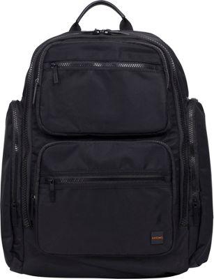 KNOMO London Pimlico Denbigh Backpack Black - KNOMO London Laptop Backpacks