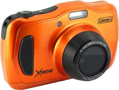 Coleman Xtreme4 20.0 MP / 1080p HD / 4X Optical Zoom Underwater Digital & Video Camera