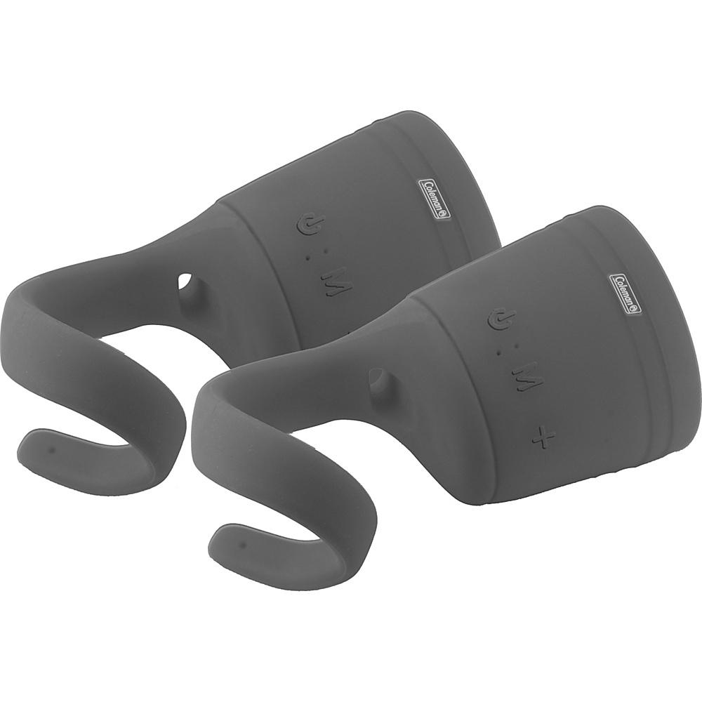 Coleman True Wireless Stereo Link Water Resistant Bluetooth Speaker Two Pack Grey Coleman Headphones Speakers