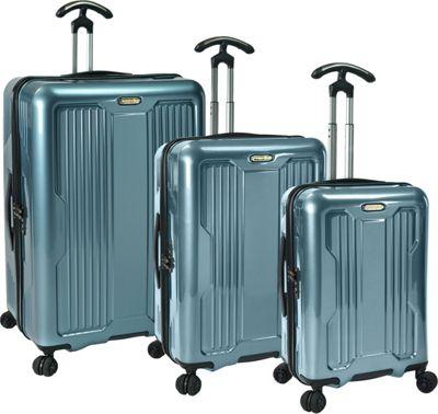 PROKAS Ultimax  3-Piece Spinner Luggage Set Teal - PROKAS Luggage Sets