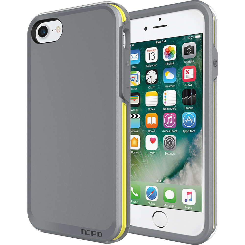 Incipio Performance Series Ultra (no holster) for iPhone 7 Charcoal Gray/Yellow(CGY) - Incipio Electronic Cases - Technology, Electronic Cases