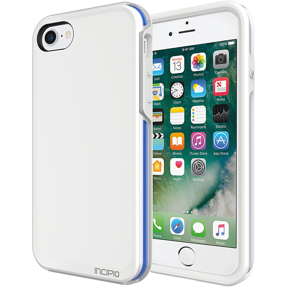 Incipio Performance Series Ultra (no holster) for iPhone 7 White/Blue(WBL) - Incipio Electronic Cases - Technology, Electronic Cases