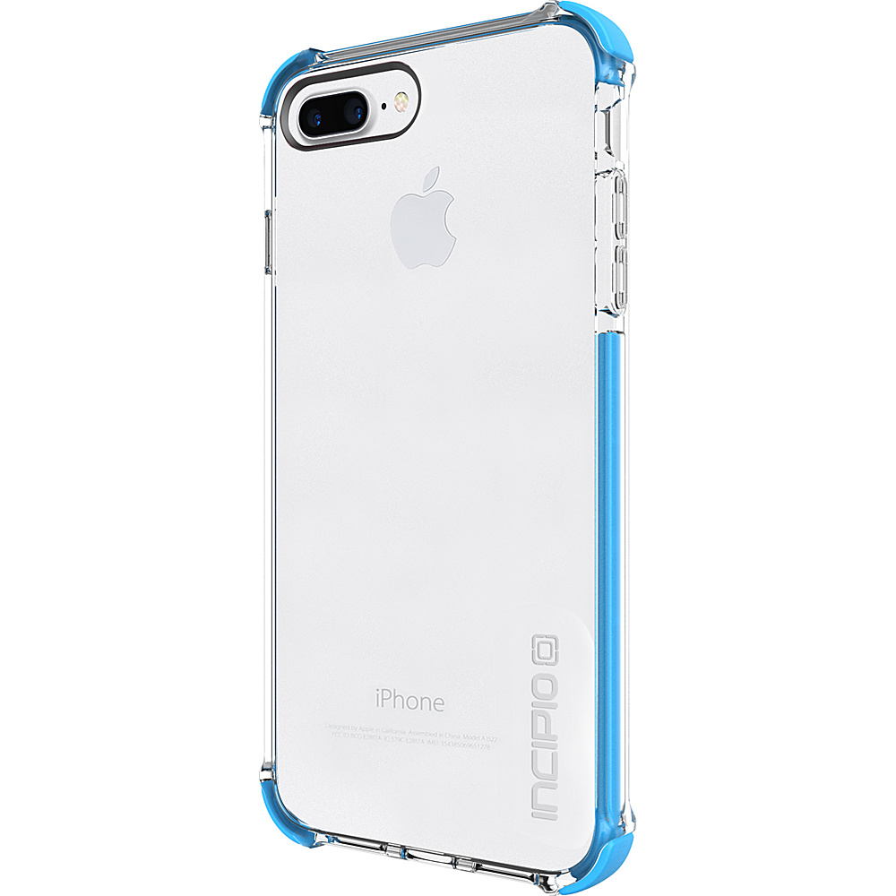 Incipio Reprieve [SPORT] for iPhone 7 Plus Clear/Cyan(CCN) - Incipio Electronic Cases - Technology, Electronic Cases