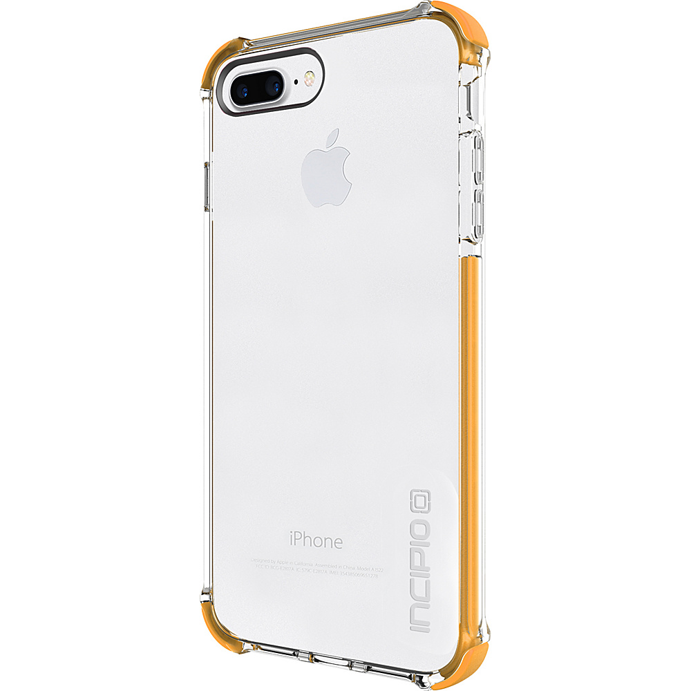 Incipio Reprieve [SPORT] for iPhone 7 Plus Clear/Orange(COR) - Incipio Electronic Cases - Technology, Electronic Cases