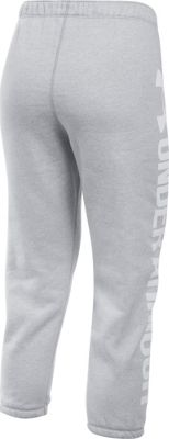 Under Armour Favorite Fleece Capri M - True Gray Heather/White - Under Armour Women's Apparel 10493188