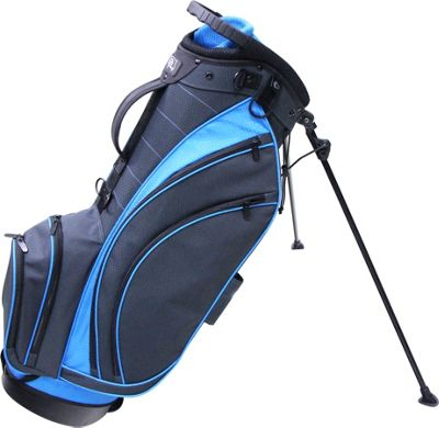 RJ Golf Lightweight Stand Bag Charcoal/True Blue - RJ Golf Golf Bags