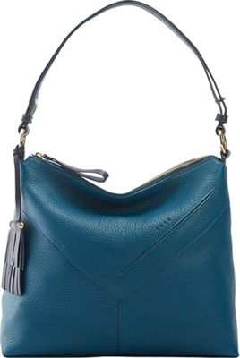 TUSK LTD Natalie  Hobo Denim - TUSK LTD Leather Handbags