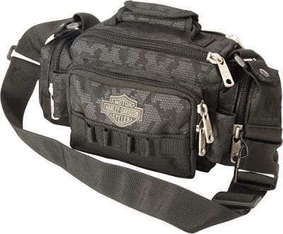 Harley Davidson by Athalon Molle Side Kick/Tandem Black night Vision - Harley Davidson by Athalon Messenger Bags