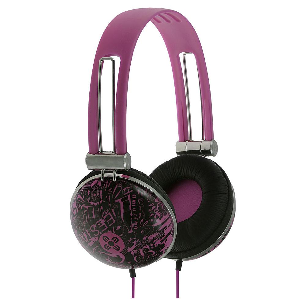 Moki Dome Headphones Violet Moki Headphones Speakers