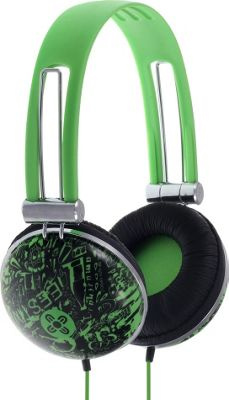 Moki Dome Headphones Graf Green - Moki Headphones & Speakers