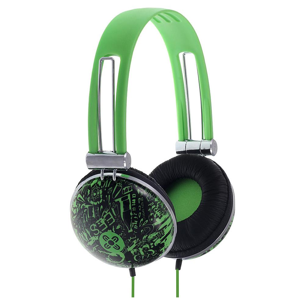Moki Dome Headphones Graf Green Moki Headphones Speakers