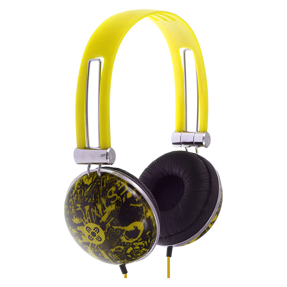 Moki Dome Headphones Yellow Moki Headphones Speakers
