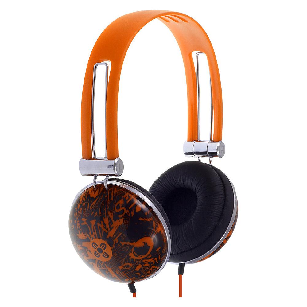 Moki Dome Headphones Orange Moki Headphones Speakers