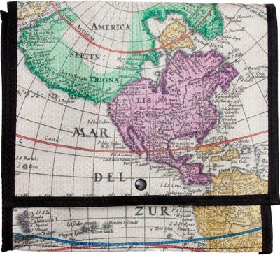 Walter + Ray TAB Light Multi-Colored Old World Map - Walter + Ray Electronic Cases