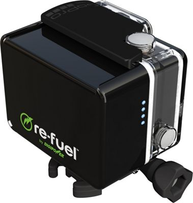 Re-Fuel 6-Hour ActionPack Battery for GoPro HERO3, HERO3+, and HERO4 Black - Re-Fuel Portable Batteries & Chargers