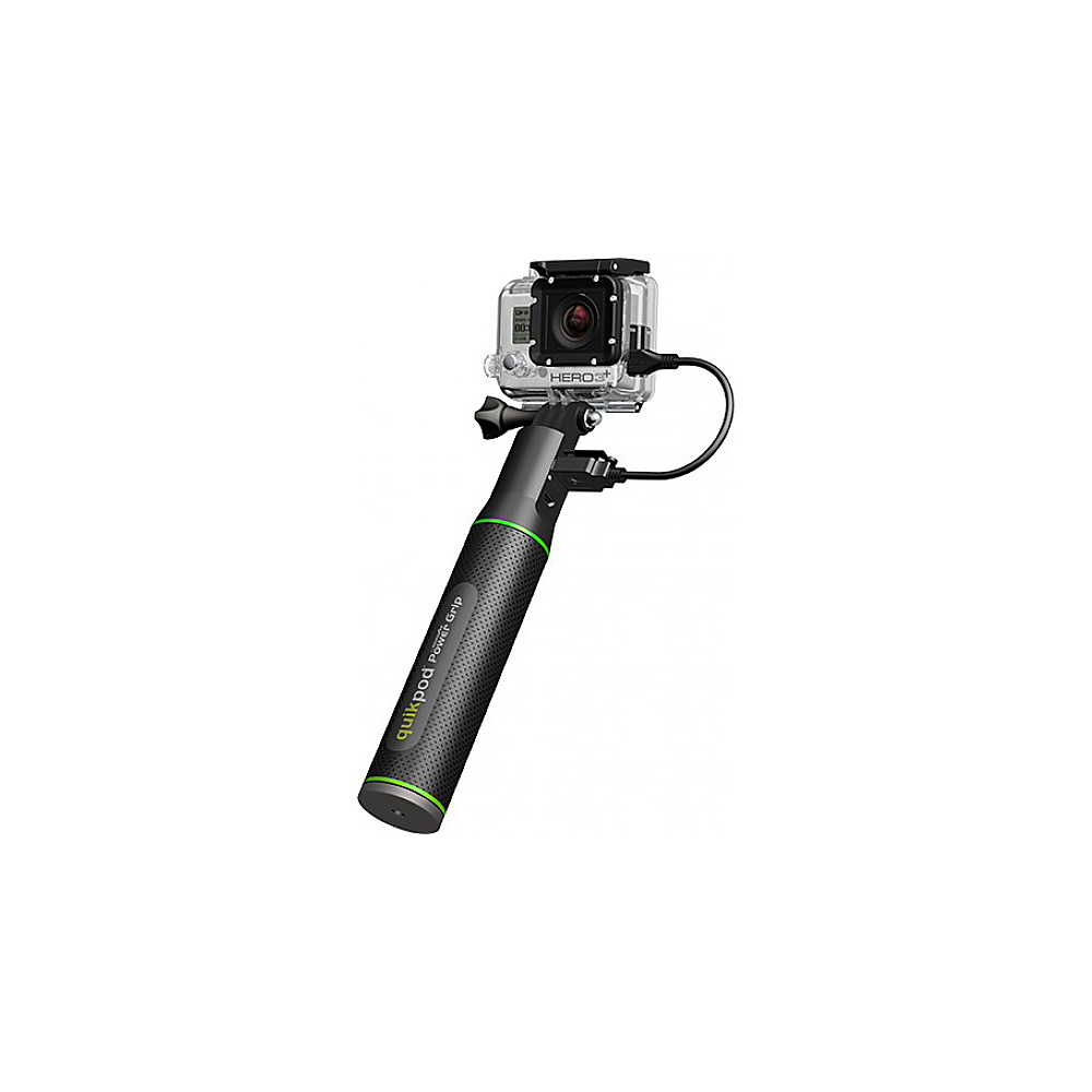 Re Fuel Quikpod Selfie Funr Extends W/ Built In 5200mah Power Bank & Gopro Mount Black Re Fuel Camera Accessories