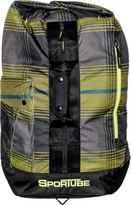 Sportube Overnighter Duffle Bag Plaid - Sportube Gym Duffels