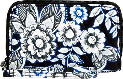 Vera Bradley RFID Grab & Go Wristlet Snow Lotus - Vera Bradley Women's Wallets