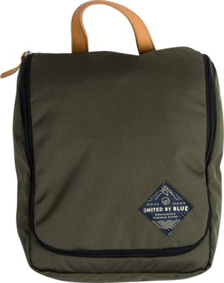 United by Blue Pitch Toiletry Case Olive - United by Blue Toiletry Kits