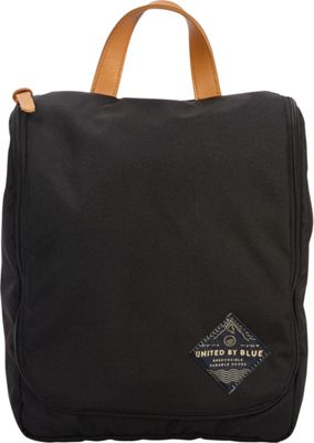 United by Blue Pitch Toiletry Case Black - United by Blue Toiletry Kits