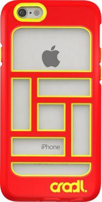 cradl. iPhone 6/6s Blocks Case Crimson/Lightning - cradl. Electronic Cases