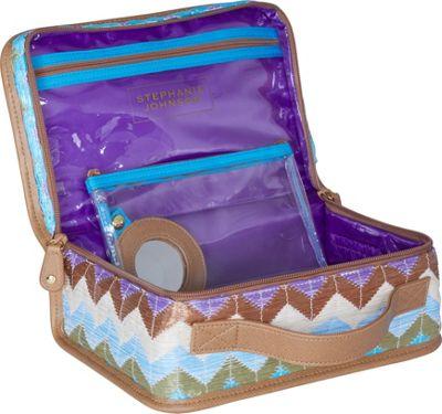 Stephanie Johnson Amalfi Jenny Traincase Pink - Stephanie Johnson Toiletry Kits