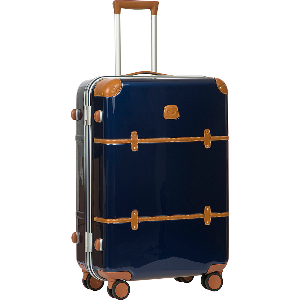 BRIC S Bellagio Metallo 2.0 27 Spinner Trunk Blue BRIC S Hardside Checked