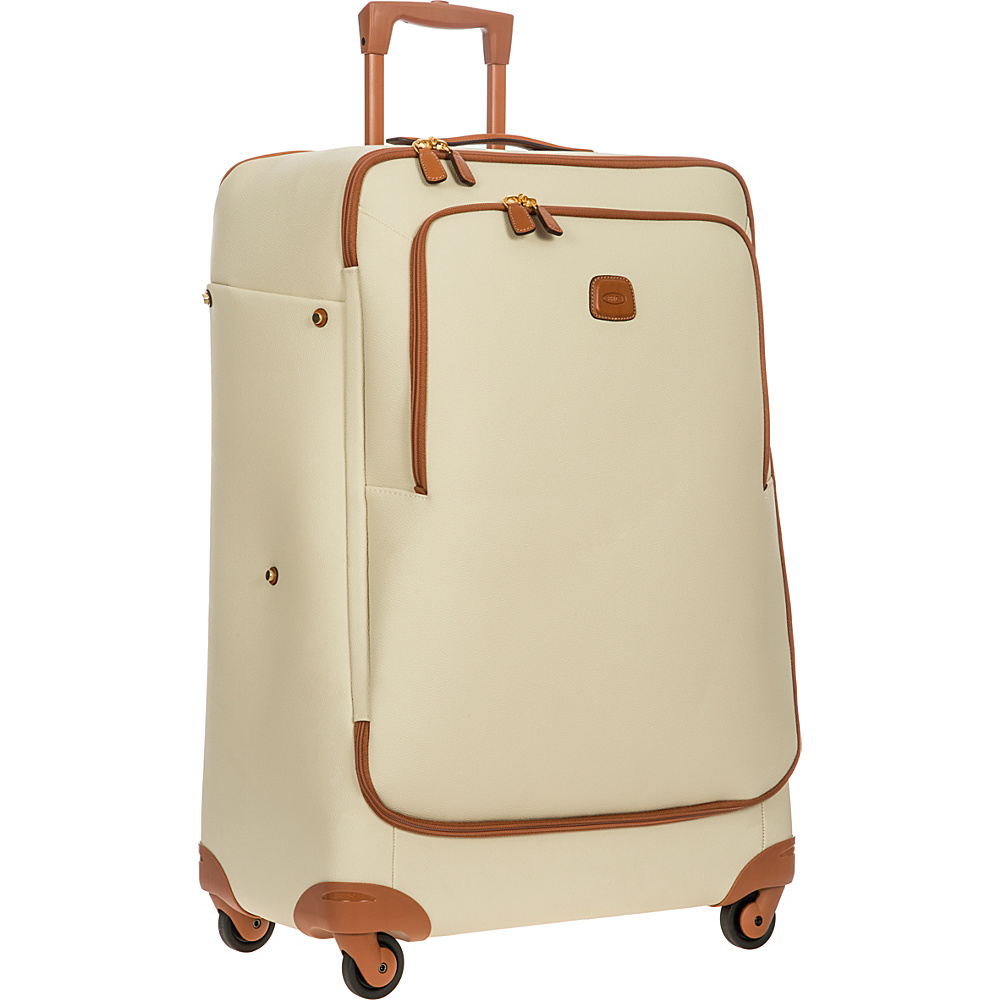 BRIC S Firenze 32 Light Spinner Cream BRIC S Softside Checked