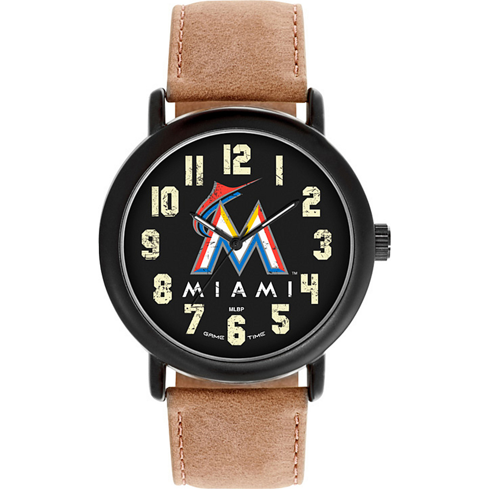 Game Time MLB Throwback Watch Miami Marlins - Game Time Watches - Fashion Accessories, Watches