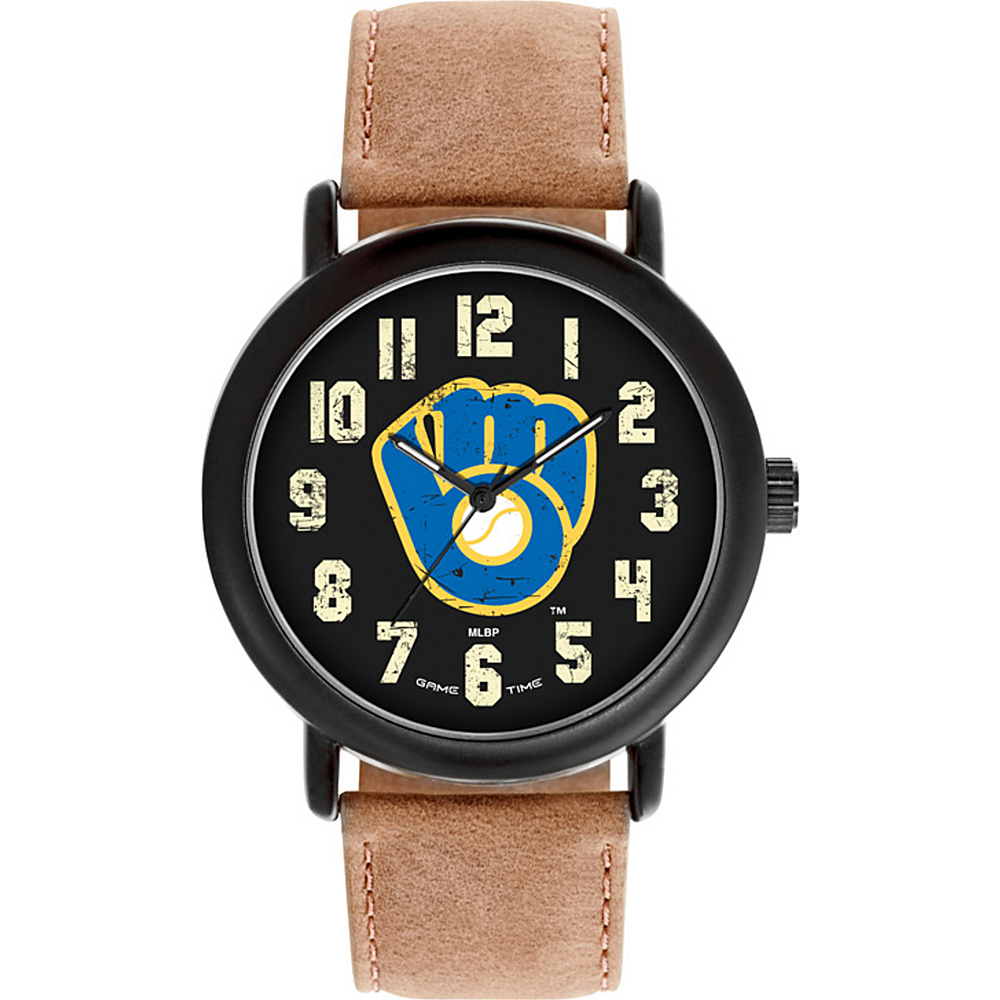 Game Time MLB Throwback Watch Milwaukee Brewers - Game Time Watches - Fashion Accessories, Watches
