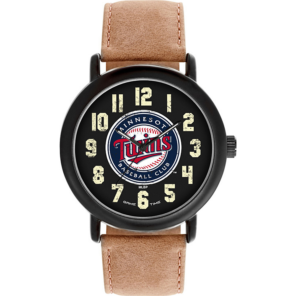 Game Time MLB Throwback Watch Minnesota Twins - Game Time Watches - Fashion Accessories, Watches