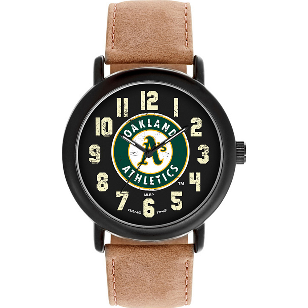 Game Time MLB Throwback Watch Oakland As - Game Time Watches - Fashion Accessories, Watches