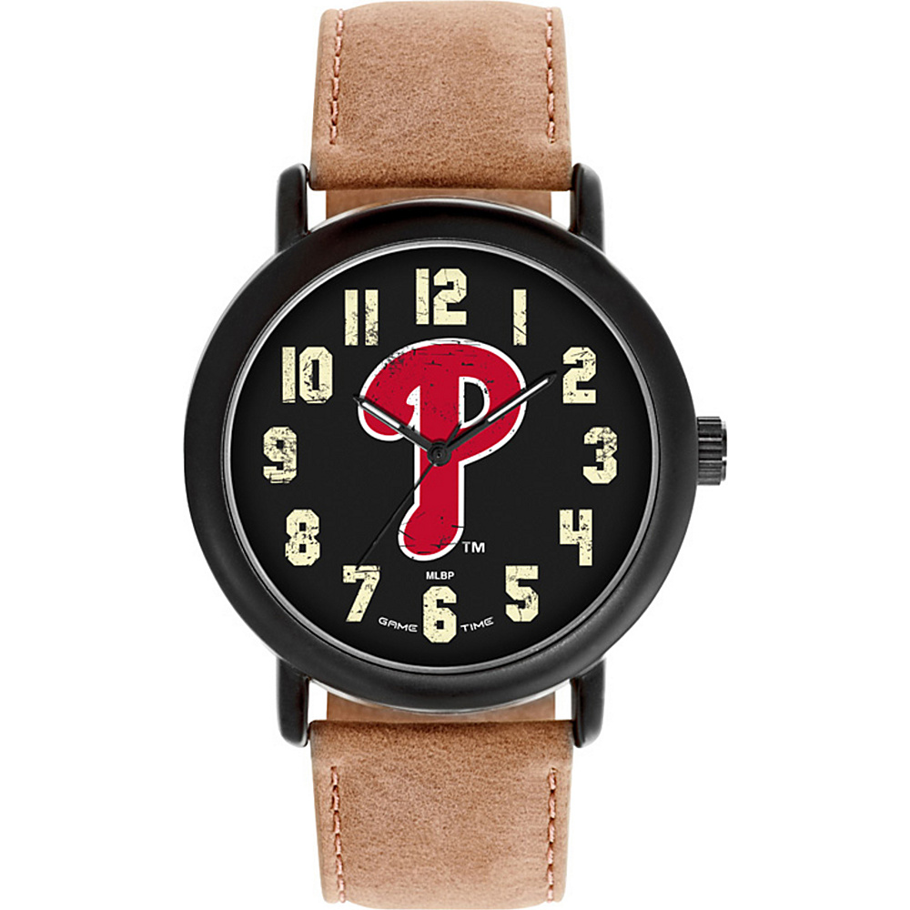 Game Time MLB Throwback Watch Philadelphia Phillies P Logo - Game Time Watches - Fashion Accessories, Watches