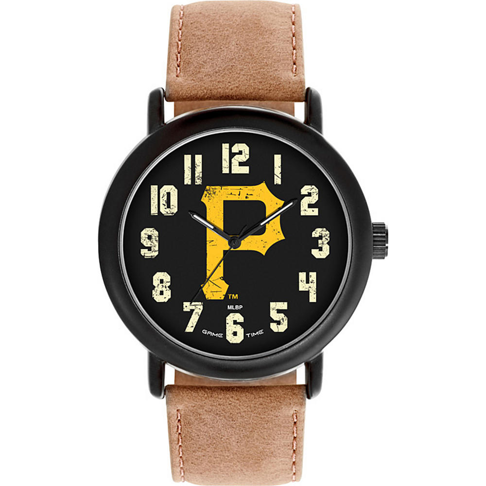 Game Time MLB Throwback Watch Pittsburgh Pirates P Logo - Game Time Watches - Fashion Accessories, Watches