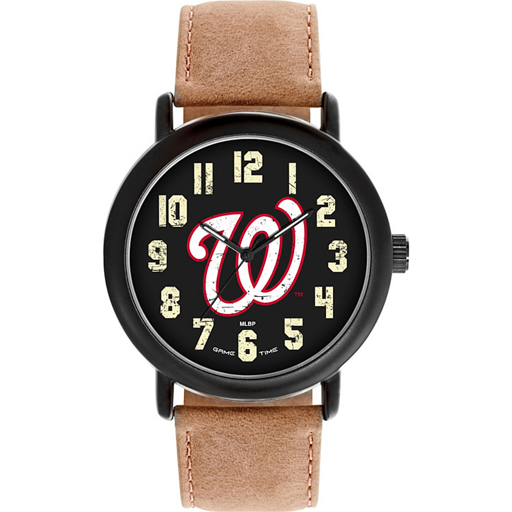 Game Time MLB Throwback Watch Washington Nationals - Game Time Watches - Fashion Accessories, Watches