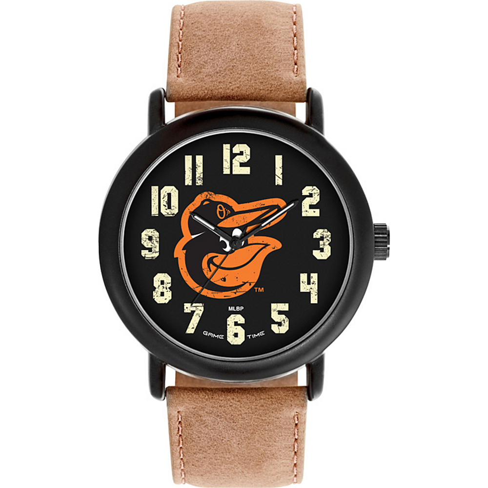 Game Time MLB Throwback Watch Baltimore Orioles Bird - Game Time Watches - Fashion Accessories, Watches