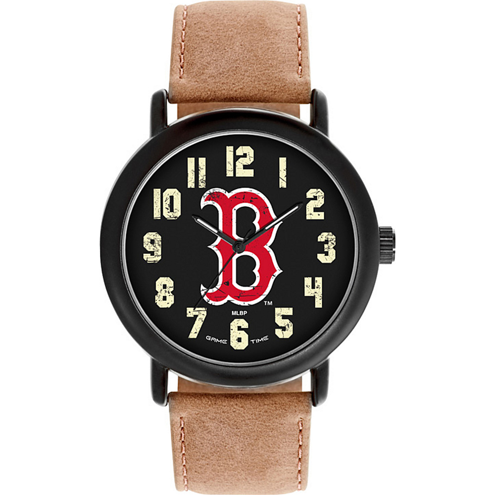 Game Time MLB Throwback Watch Boston Red Sox B Logo - Game Time Watches - Fashion Accessories, Watches