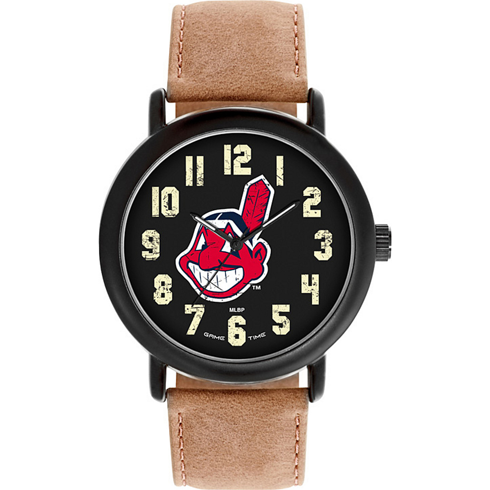 Game Time MLB Throwback Watch Cleveland Indians - Game Time Watches - Fashion Accessories, Watches