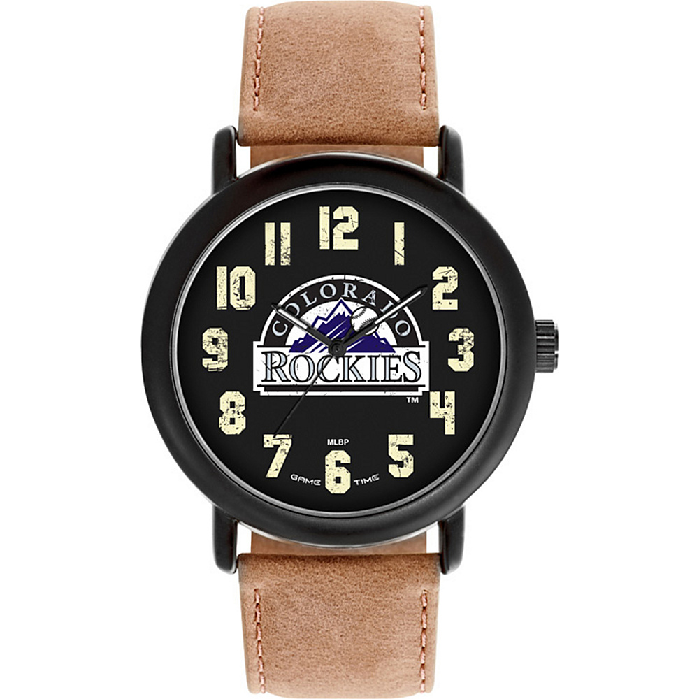 Game Time MLB Throwback Watch Colorado Rockies - Game Time Watches - Fashion Accessories, Watches