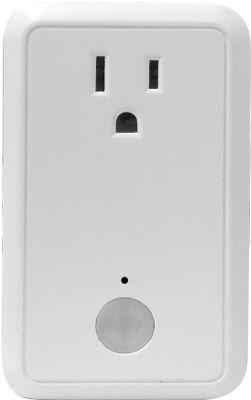 Simple Home Smart Wi-Fi Controlled Wall Outlet White - Simple Home Smart Home Automation