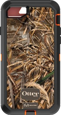 Otterbox Ingram iPhone 7 Defender Series Realtree Case Max 5 Blaze - Otterbox Ingram Electronic Cases